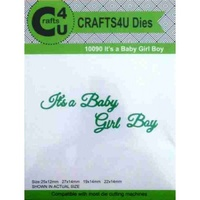 Crafts4U Dies - IT'S A BABY GIRL BOY