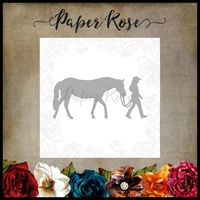Paper Rose Die - GIRL WITH HORSE
