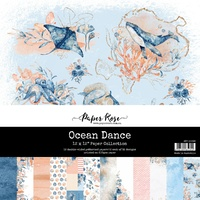 Paper Rose 12 x 12 Paper Pack - OCEAN DANCE