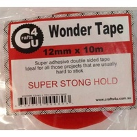 Crafts4U DOUBLE SIDED WONDER TAPE 12mm x 10m