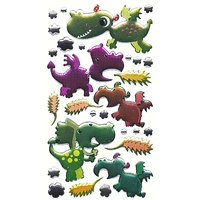Sticko Epoxy stickers - DRAGONS