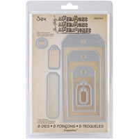 Sizzix Framelits Die Set - TAG COLLECTION - 8PK