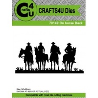 Crafts4U Die - ON HORSE BACK