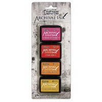 Tim Holtz Distress Mini Archival Inks - Kit #1