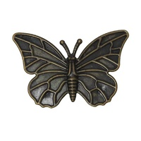 Metal Embellishment BUTTERFLY Bronze Style #4