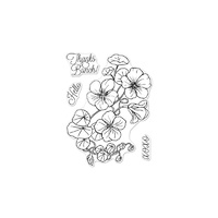 "Hero Arts 3"" x 4"" Clear Stamps - NASTURTIUM"