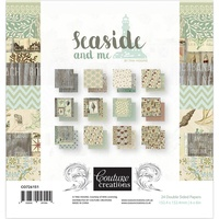 "Couture Creations 6"" x 6"" Paper Pad - SEASIDE AND ME"