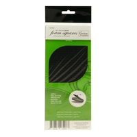 Couture Creations 3D FOAM SQUARES 940/Pkg - BLACK