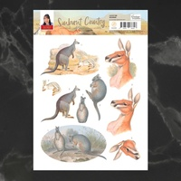 Couture Creations A4 Decoupage Sheet - BOOMER