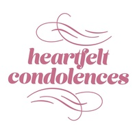 Couture Creations Mini Stamp - HEARTFELT CONDOLENCES