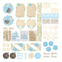 Couture Creations Ephemera Pack - NEW ADVENTURES
