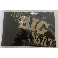 Dusty Attic Chipboard - MY BIG SISTER