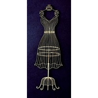 Dusty Attic Chipboard - WIRE DRESS FORM