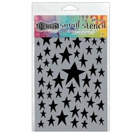 "Dylusions Stencil - STAR STUCK Small 5"" x 8"""