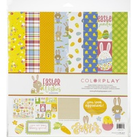 "ColorPlay Collection Pack 12""X12"" EASTER WISHES"