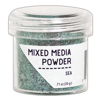 Ranger MIXED MEDIA Embossing Powder - SEA