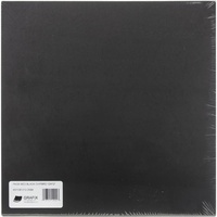 "Grafix - BLACK CHIPBOARD SHEETS 12 ""X 12""  - 25/Pkg"