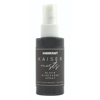 KAISERmists - Iridescent Shimmer Spray - BLACK