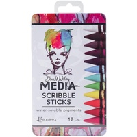 Dina Wakley Media Scribble Sticks #1