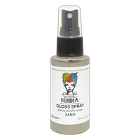 Dina Wakley Media Gloss Spray - SAND
