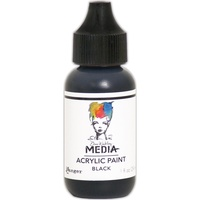Dina Wakley Media Acrylic Paint BLACK