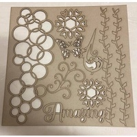 Memory Maze Chipboard - AMAZING Pack LARGE