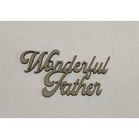 Memory Maze Chipboard - WONDERFUL FATHER