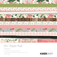 "Kaisercraft 6.5"" Paper Pad - FULL BLOOM"