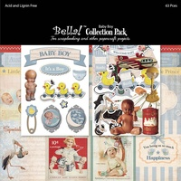 "Bella 12"" x 12"" Collection Pack - BABY BOY"