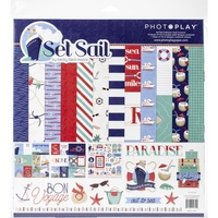 "Photoplay Paper Collection 12"" x 12"" - SET SAIL"