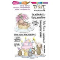 Stampendous Clear Stamps - MICE WISHES