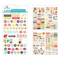 Paper House Life Organised Planner Stickers FAMILY
