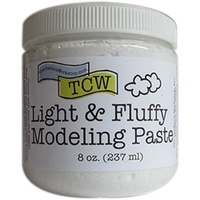 The Crafter's Workshop - LIGHT & FLUFFY MODELING PASTE 8oz