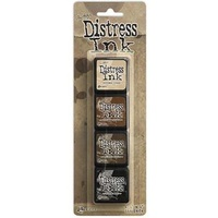 Tim Holtz Mini Distress Ink Pads - INK KIT #3