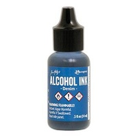 Ranger Tim Holtz Alcohol Ink 14ml - DENIM