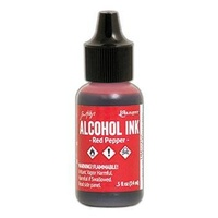 Ranger Tim Holtz Alcohol Ink 14ml - RED PEPPER