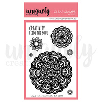 Uniquely Creative Acrylic Stamps - DOILY