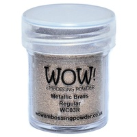 WOW Embossing Powder - METALLIC BRASS