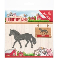 Yvonne Creations Country Life Die - HORSE