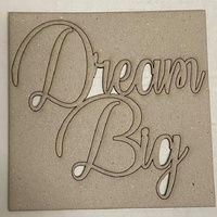 Memory Maze Chipboard - DREAM BIG
